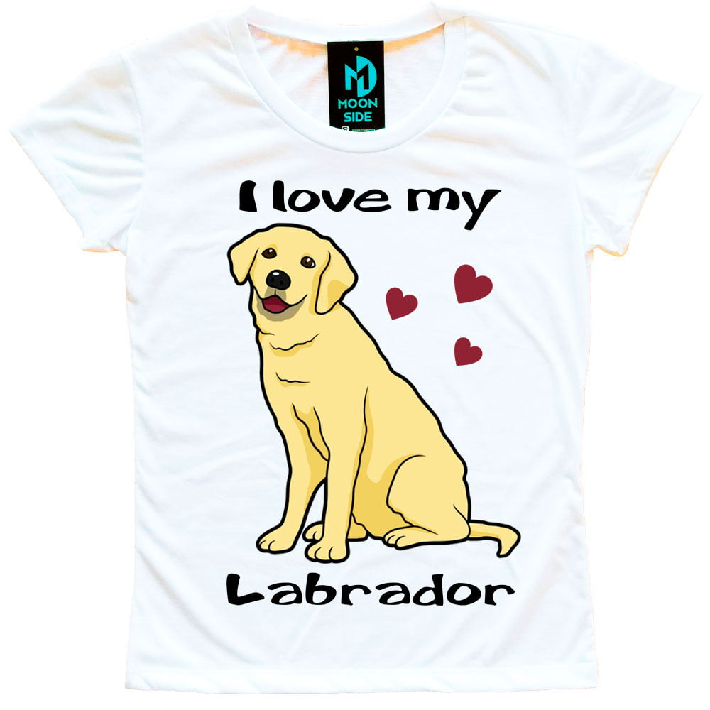Camiseta Love My Pet - Labrador