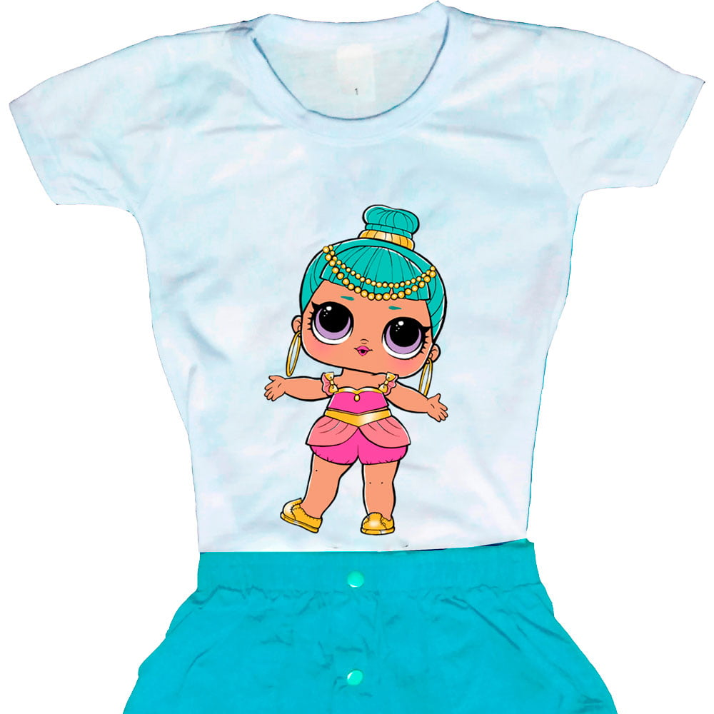 Camiseta Boneca Lol Surprise Genie