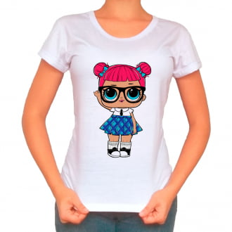 Camiseta Boneca Lol Surprise Teacher`s Pet - Adulto