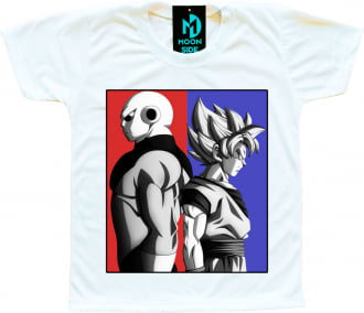 Camiseta Dragon Ball Super Goku e Jiren