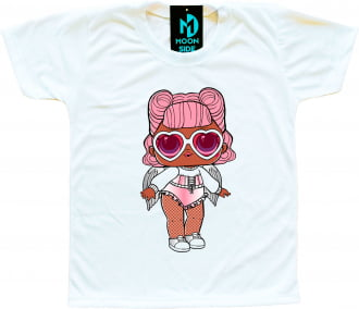 Camiseta Boneca Lol Surprise Angel