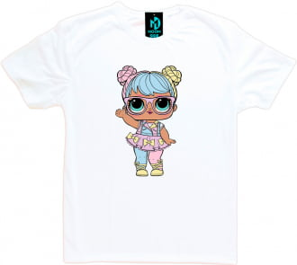 Camiseta Boneca Lol Surprise Bon Bon - Adulto