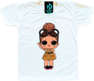 Camiseta Boneca Lol Surprise Boss Queen