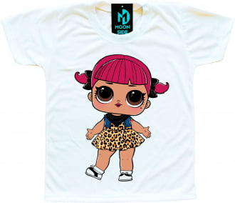 Camiseta Boneca Lol Surprise Cherry