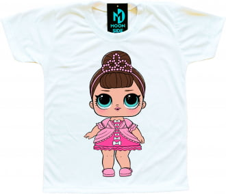 Camiseta Boneca Lol Surprise Fancy
