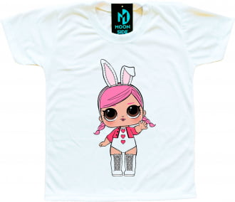 Camiseta Boneca Lol Surprise Hops