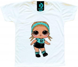 Camiseta Boneca Lol Surprise Kicks
