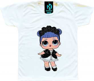 Camiseta Boneca Lol Surprise Midnight