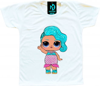 Camiseta Boneca Lol Surprise Splash Queen