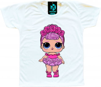 Camiseta Boneca Lol Surprise Sugar Queen