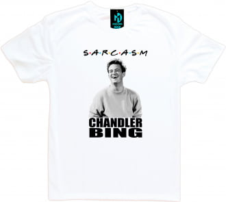 Camiseta Friends Chandler Bing Sarcasm