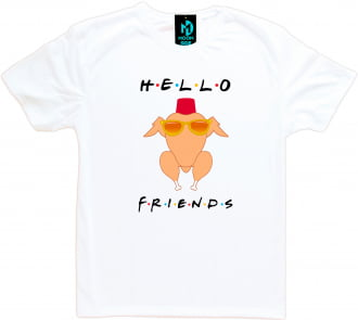 Camiseta Friends Thanksgiving